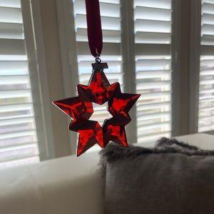 Swarovski Crystal Red Star Holiday Ornament 2019